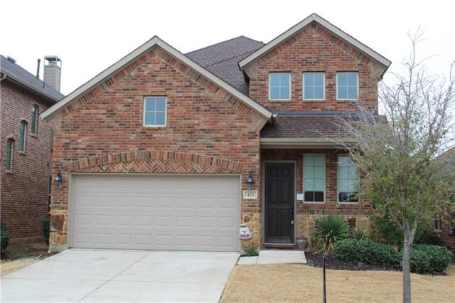 420 Spring Creek Drive, Lantana, TX 76226 (MLS #13784244) :: Team Hodnett