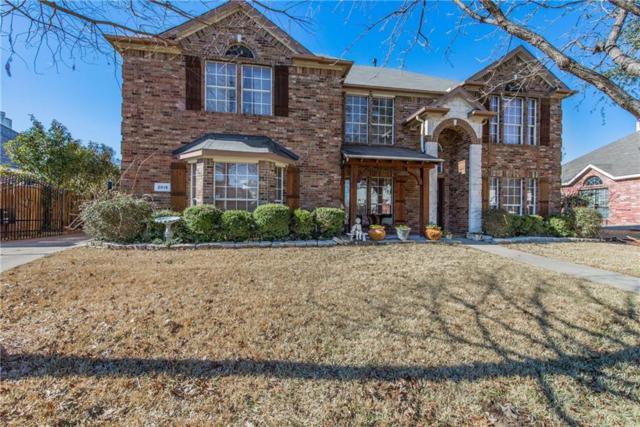 2815 Claremont Drive, Mansfield, TX 76063 (MLS #13784526) :: Team Hodnett