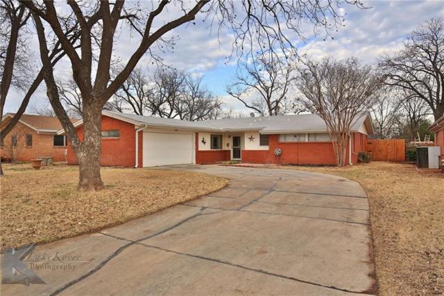 1657 Beechwood Lane, Abilene, TX 79603 (MLS #13784556) :: Team Hodnett