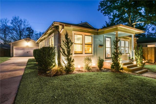 819 N Edgefield Avenue, Dallas, TX 75208 (MLS #13785182) :: Team Hodnett