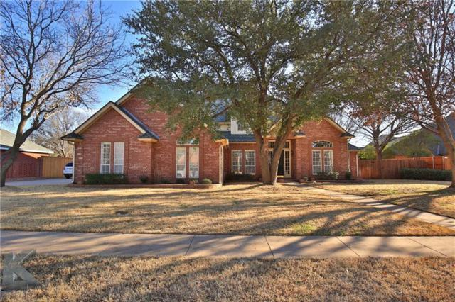 2433 Spyglass Hill Court, Abilene, TX 79606 (MLS #13786033) :: Team Hodnett