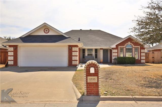 1333 Tulane Drive, Abilene, TX 79602 (MLS #13786426) :: Team Hodnett