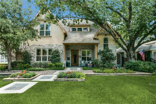 5611 W Hanover Avenue W, Dallas, TX 75209 (MLS #13787588) :: Team Hodnett