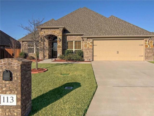 113 Cold Track Drive, Willow Park, TX 76008 (MLS #13787689) :: Team Hodnett