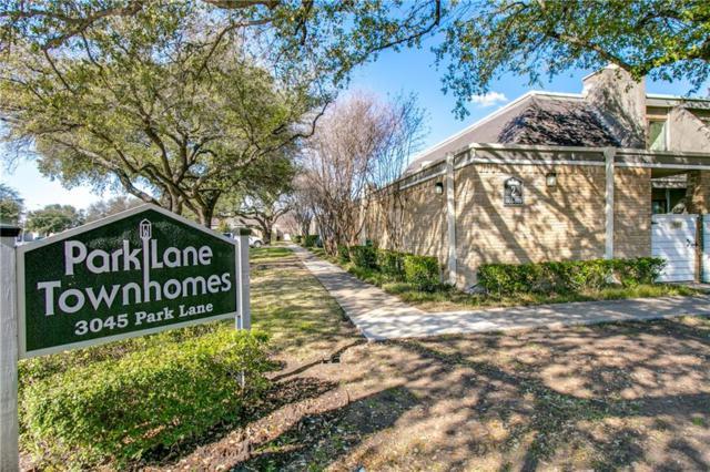 3045 Park Lane #1042, Dallas, TX 75220 (MLS #13788161) :: Team Hodnett