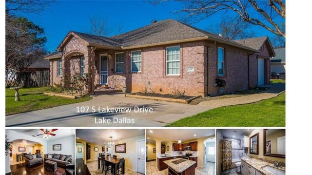 107 S Lakeview Drive, Lake Dallas, TX 75065 (MLS #13788284) :: Real Estate By Design