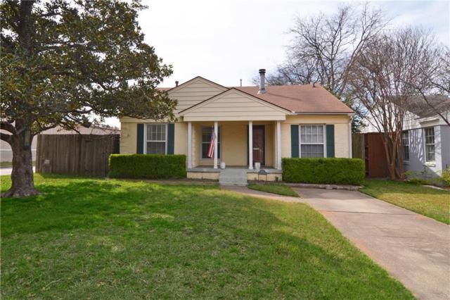 5750 W Hanover Avenue, Dallas, TX 75209 (MLS #13788378) :: Team Hodnett