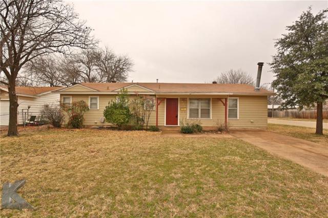 2525 S 40th Street, Abilene, TX 79605 (MLS #13788829) :: Team Hodnett