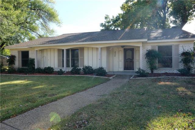 430 Colonial Drive, Garland, TX 75043 (MLS #13789190) :: Kindle Realty