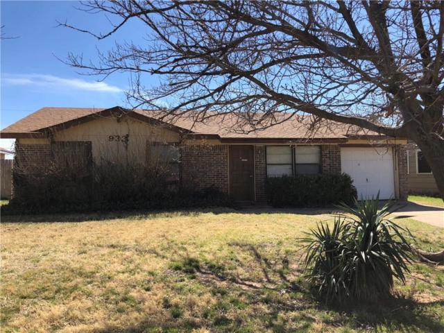 933 Minda Street, Abilene, TX 79602 (MLS #13789312) :: Team Hodnett