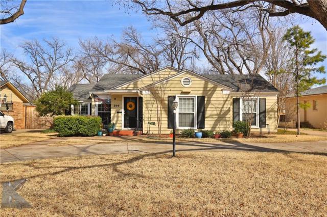 849 Elmwood Drive, Abilene, TX 79605 (MLS #13789476) :: The Real Estate Station