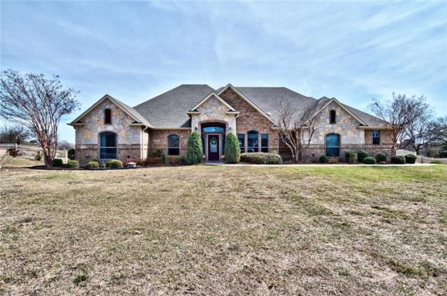 160 N Star Crossing Lane, Weatherford, TX 76088 (MLS #13789578) :: Team Hodnett