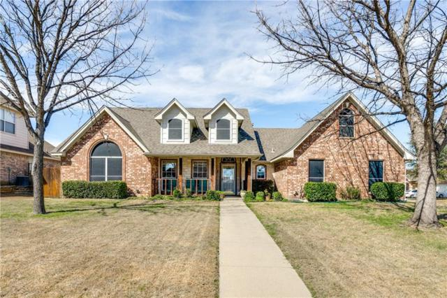 900 Friar Drive, Saginaw, TX 76179 (MLS #13790241) :: Team Hodnett