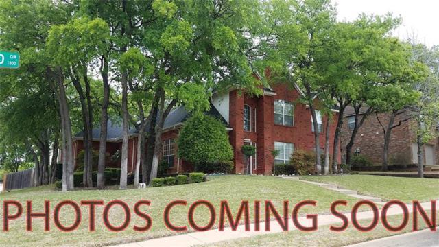 1824 Haydenbend Circle, Grapevine, TX 76051 (MLS #13790536) :: Cassandra & Co.