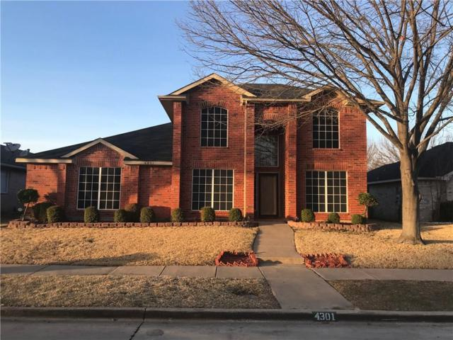 4301 Baccarat Drive, Garland, TX 75043 (MLS #13790613) :: Team Hodnett
