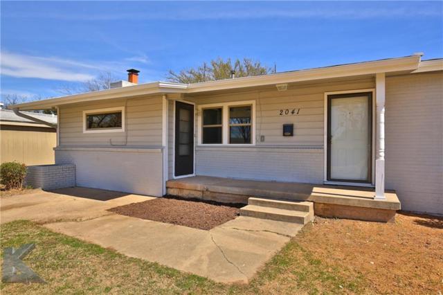 2041 Woodard Street, Abilene, TX 79605 (MLS #13790688) :: Team Hodnett