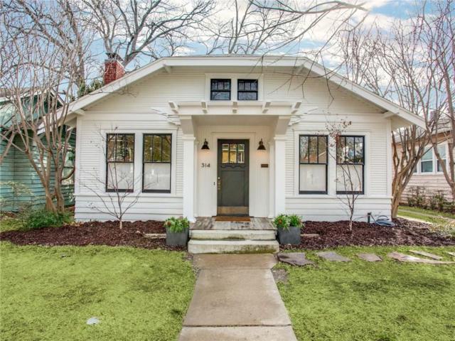 314 S Montclair Avenue, Dallas, TX 75208 (MLS #13790734) :: Team Hodnett