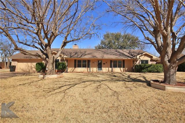 2118 River Oaks Circle, Abilene, TX 79605 (MLS #13791097) :: Team Hodnett
