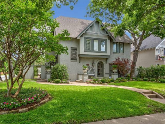 4836 Bryce Avenue, Fort Worth, TX 76107 (MLS #13791630) :: The Mitchell Group