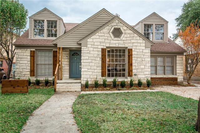 7519 Caillet Street, Dallas, TX 75209 (MLS #13791738) :: Team Hodnett