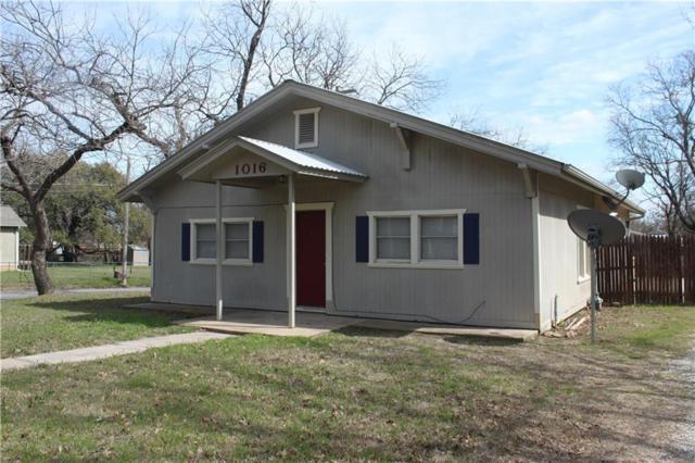 1016 W Long Street, Stephenville, TX 76401 (MLS #13792426) :: Team Hodnett