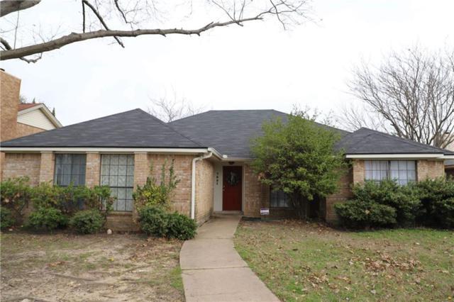 7921 Rice Drive, Rowlett, TX 75088 (MLS #13792796) :: Team Hodnett