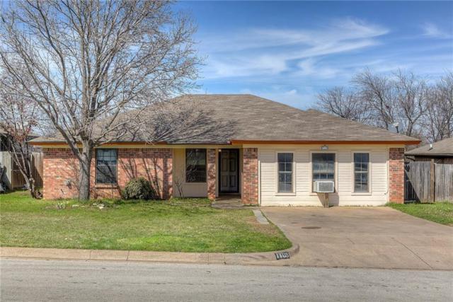 1108 Andrew Street, Crowley, TX 76036 (MLS #13792800) :: Team Hodnett