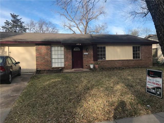 4028 Charter Drive, Garland, TX 75043 (MLS #13792941) :: Team Hodnett