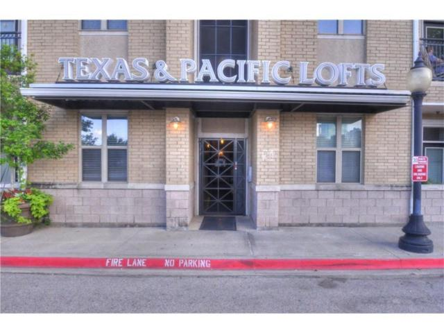 201 W Lancaster Avenue #205, Fort Worth, TX 76102 (MLS #13793402) :: The Mitchell Group