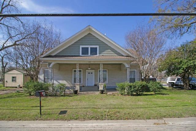 1307 Granbury Street, Cleburne, TX 76033 (MLS #13793454) :: Team Hodnett