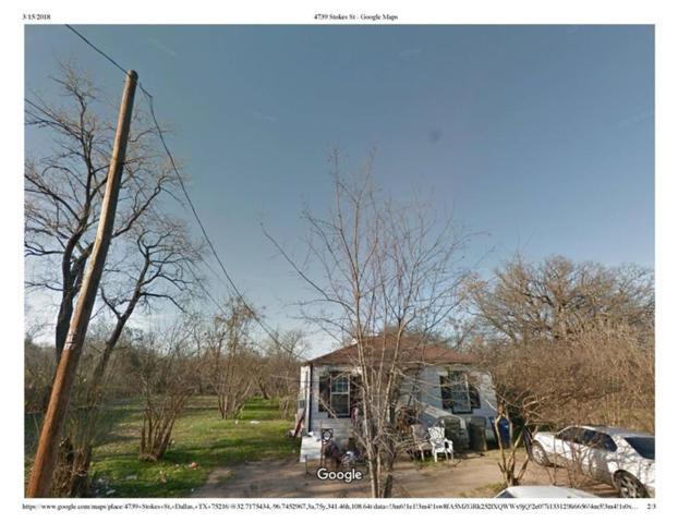 4739 Stokes Street, Dallas, TX 75216 (MLS #13793462) :: Team Hodnett