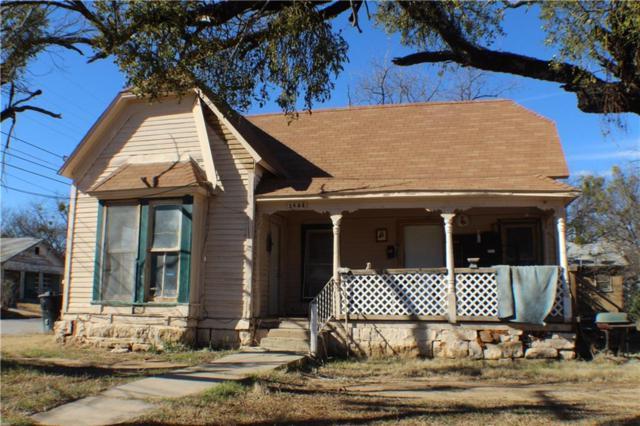 1625 Brady Avenue, Brownwood, TX 76801 (MLS #13793924) :: Team Hodnett
