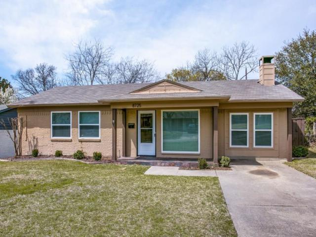 8725 Woodbrook Drive, Dallas, TX 75243 (MLS #13794632) :: Team Hodnett