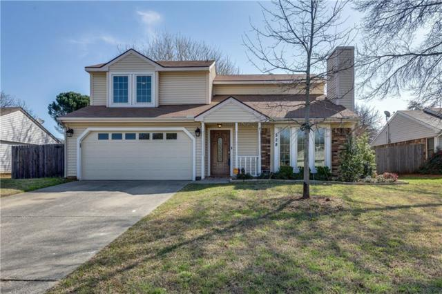 528 Yellowstone Drive, Grapevine, TX 76051 (MLS #13795209) :: Baldree Home Team
