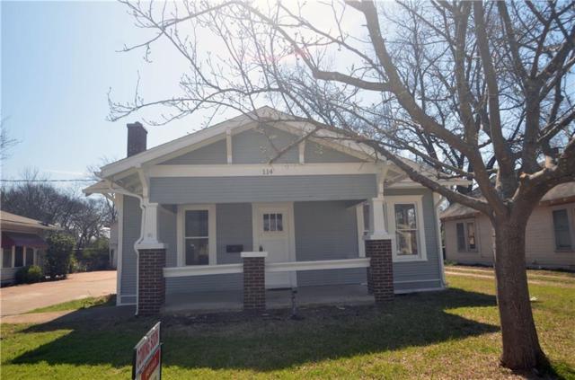 114 Scurlock Avenue, Cleburne, TX 76031 (MLS #13795399) :: Team Hodnett