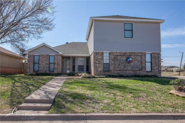 8073 Bonnie Circle, Abilene, TX 79606 (MLS #13795423) :: Team Hodnett