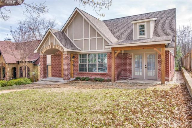 1023 Clermont Street, Dallas, TX 75223 (MLS #13795505) :: RE/MAX Town & Country
