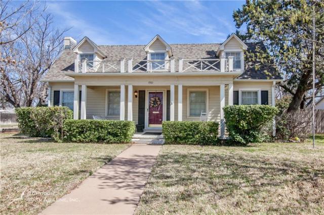 1901 Belmont Boulevard, Abilene, TX 79602 (MLS #13795801) :: Team Hodnett