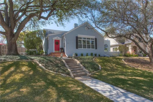 3105 Westcliff Road W, Fort Worth, TX 76109 (MLS #13796093) :: Kindle Realty