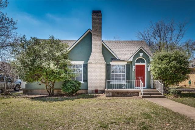 214 Bellevue Drive, Cleburne, TX 76033 (MLS #13796422) :: Team Hodnett