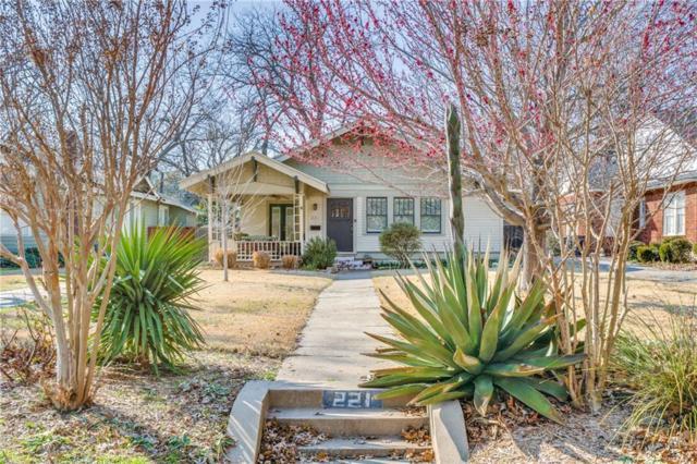221 N Rosemont Avenue, Dallas, TX 75208 (MLS #13796690) :: The Marriott Group