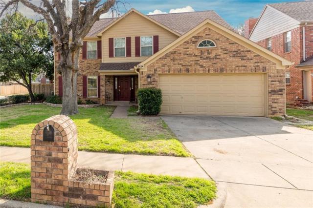 3124 Rustic Woods Drive, Bedford, TX 76021 (MLS #13796726) :: Team Hodnett