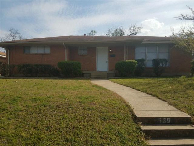 980 Green Castle Drive, Dallas, TX 75232 (MLS #13797179) :: Team Hodnett