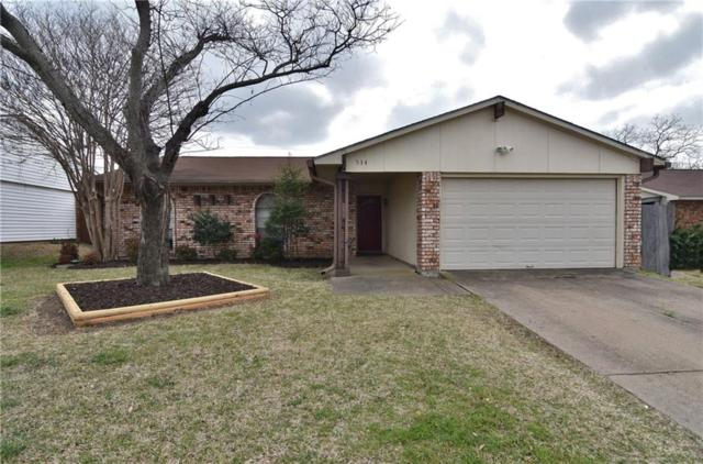 534 Hanover Drive, Allen, TX 75002 (MLS #13797696) :: Robinson Clay