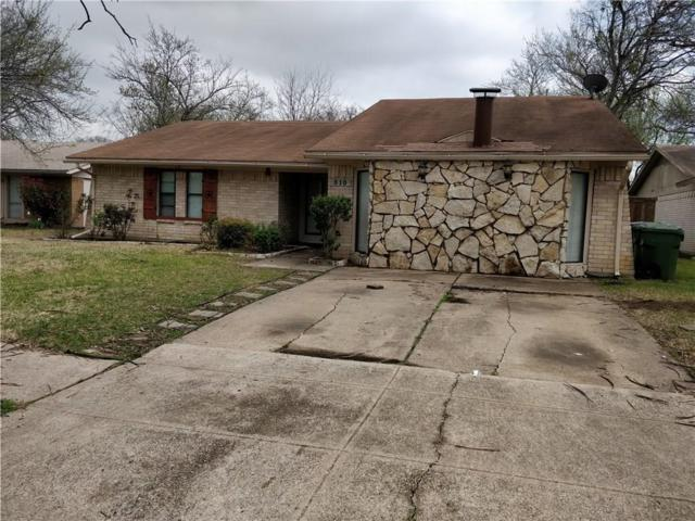 510 Cranbrook Park, Garland, TX 75043 (MLS #13797775) :: Baldree Home Team