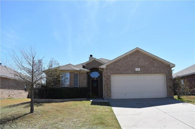 1121 Vista View Drive, Burleson, TX 76028 (MLS #13797880) :: The Marriott Group