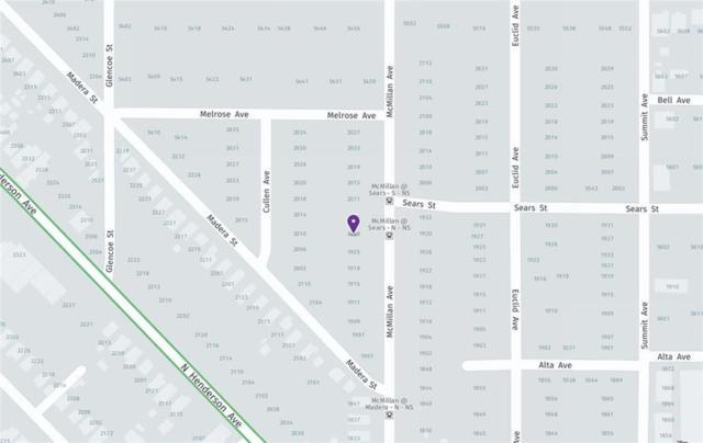 1915 Mcmillan Avenue, Dallas, TX 75206 (MLS #13798115) :: Robbins Real Estate Group