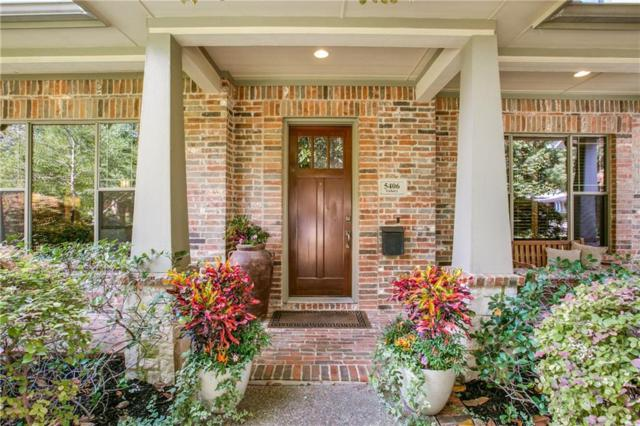 5406 Vickery Boulevard, Dallas, TX 75206 (MLS #13798163) :: Robbins Real Estate Group