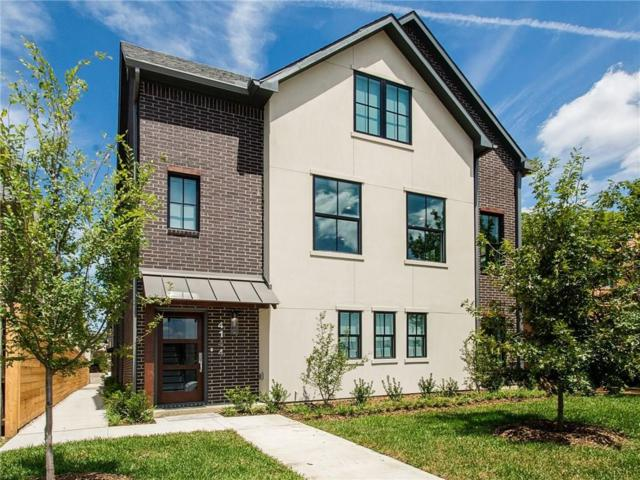 4144 Druid Lane #2, University Park, TX 75205 (MLS #13798217) :: Robbins Real Estate Group