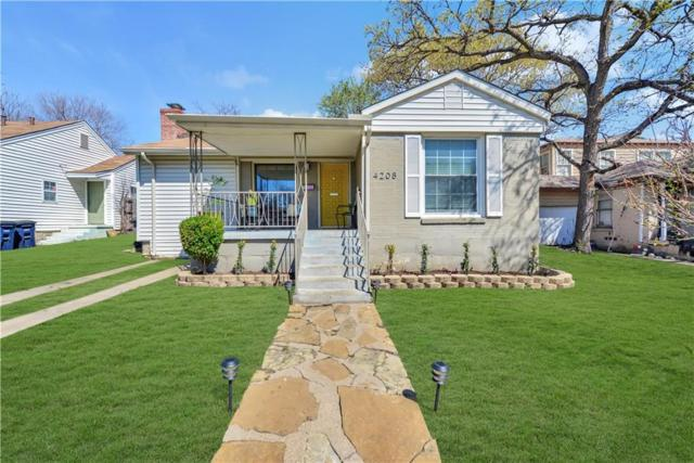 4208 Curzon Avenue, Fort Worth, TX 76107 (MLS #13798318) :: The Holman Group